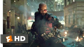 Download Suicide Squad (2016) - Deadshot Frenzy Scene (3/8) | Movieclips Video