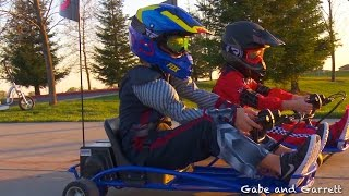 Download Razor Ground Force Drifter Go-Kart - Unboxing, Assembly, and Racing! Video
