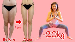 Download 【10分】1年で-20kg!痩せたければこれをやれ!産後ダイエットで69kgから49kgに! | マッスルウォッチング × Natsuki美トレ塾 Video