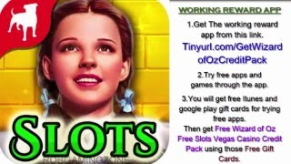 Download Wizard of Oz Free Slots Vegas Casino - Tips - Tricks - Get Credit Pack Faster - IOS ANDROID ! Video
