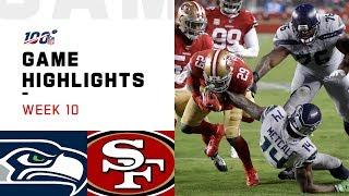 Download Seahawks vs. 49ers Week 10 Highlights | NFL 2019 Video