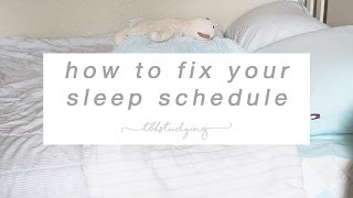 Download how to fix your sleep schedule Video