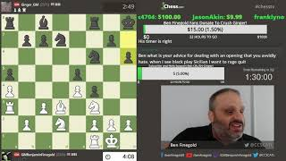 Download GM Ben Finegold - GM Simon Williams 2!! The REMATCH!!!!!! Video