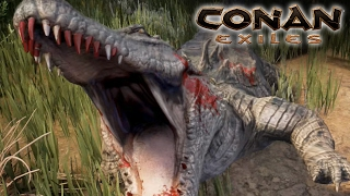 Download Conan Exiles - NATURE ATTACKS!! || Ep1 HD Video