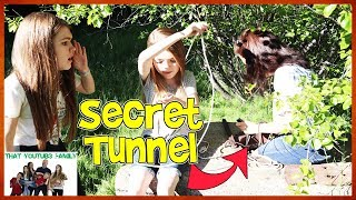 Download Exploring Secret Abandoned Bunker Tunnels In Forest / That YouTub3 Family Video