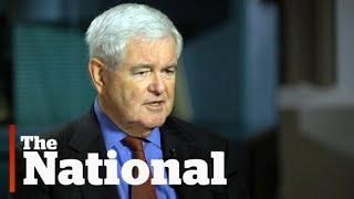 Download Newt Gingrich calls Trump ″stunningly effective,″ and reporters a ″bunch of idiots″ Video