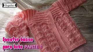 Download Sweater Básico para Bebe PARTE 1 Video