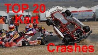 Download TOP 20 Kart Crash Compilation Video