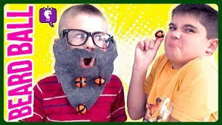 Download BEARD BALL GAME! Can We Catch Them ALL? Family Game Time with HobbyKidsTV Video