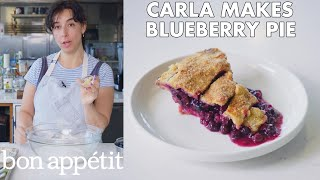 Download Carla Makes Blueberry-Ginger Pie | From the Test Kitchen | Bon Appétit Video