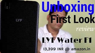 Download Hindi | Reliance Jio LYF Water F1 Unboxng & First Look | Sharmaji Technical Video