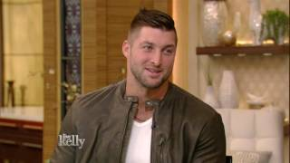 Download Tim Tebow on His Book ″Shaken″ Video