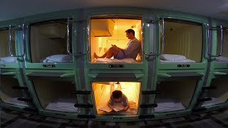 Download Tokyo Capsule Hotel Experience ★ ONLY in JAPAN Video