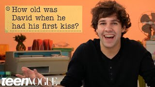 Download David Dobrik Guesses How 1,016 Fans Responded to a Survey About Him | Teen Vogue Video