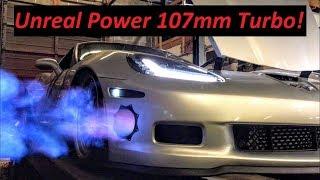 Download Single Turbo Corvette makes Huge Power Video