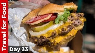 Download Shake Shack in NYC - Eating The Double Shack Burger! Video