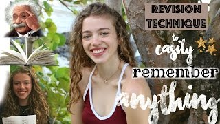 Download The Revision Technique No One Tells You: How to EASILY Remember Anything! (How I Got All A* at GCSE) Video