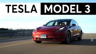 Download 2018 Tesla Model 3 Quick Drive   Consumer Reports Video