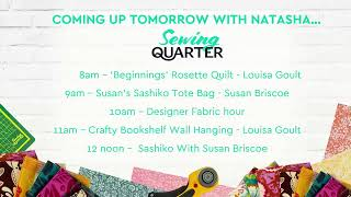 Download Sewing Quarter - Tuesday 12th November Video