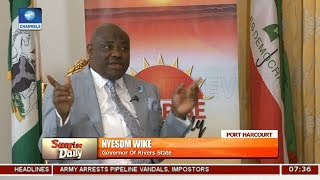 Download I Never Said President Buhari Should Not Come To Rivers State - Wike Pt.1 |Sunrise Daily| Video