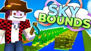 Download DIY FARM IDEAS FOR SKYBLOCK IN MINECRAFT! | Skybounds #21 Video