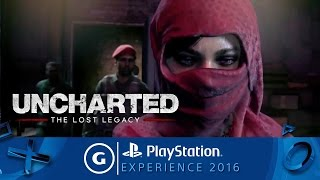 Download Uncharted: The Lost Legacy Official 4K Reveal Trailer | PSX 2016 Video
