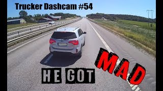 Download Trucker Dashcam #54 He got MAD!! Video