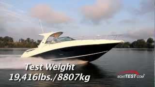 Download Sea Ray 370 Sundancer Test 2014- By BoatTest Video