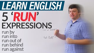 Download 5 'RUN' expressions in English Video