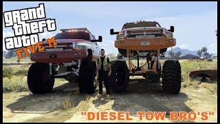 Download GTA 5 ROLEPLAY - DIESEL TOW BRO'S - EP. 86 - CIV Video