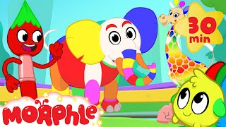 Download Magic Colors! Morphle The Paint Brush Colors the world! Learn color video for kids! Video