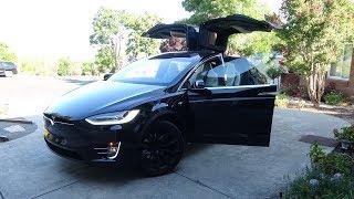 Download 2019/2020 Tesla Model X Long Range (100D) - Full Take Review (4K) Video