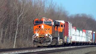 Download Water Leaking From BNSF Freight Train Video