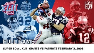Download Giants Upset Undefeated 2007 Patriots | Super Bowl XLII | NFL Full Game Video