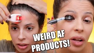 Download Testing Weird Beauty Products 2017 Video
