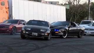 Download 300ZX Burnout Gone Wrong! Crashes into a Camaro! Video