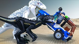 Download LEGO Jurassic World 🔴 Indoraptor vs Indominus Rex 🔺 FULL movie. Season 1 Video