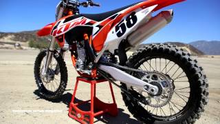 Download First Ride 2015 KTM 350SXF Motocross Action Magazine Video