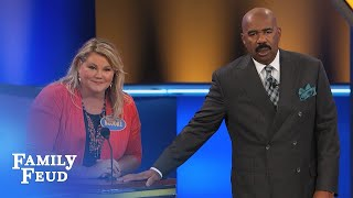 Download Gramps hopes THIS happens tomorrow morning! | Family Feud Video