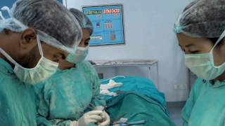 Download Herniotomy (Paediatric spinal anaesthesia). Video