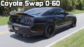 Download How Fast Can My Coyote Swap Get To 60 mph! *0-60 Test!* Video