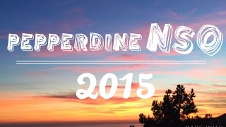 Download Pepperdine NSO 2015 Video