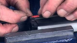 Download HiViz Pistol Dovetail Type Front Sight Installation Video Video