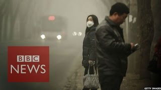 Download China smog: 'Sky dark from air pollution' - BBC News Video