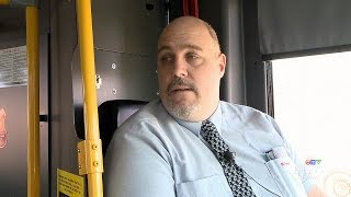 Download Hero's story: Bus driver aids woman fleeing alleged assault Video