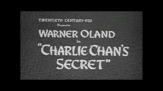 Download Charlie Chan's Secret - 1936 [Crime] [Comedy] Video