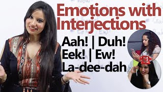 Download Learn to express Emotions through Interjections - Spoken English Lesson ( Telephone Conversation) Video