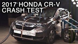 Download 2017 Honda CR-V Side Crash Test Video