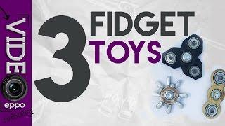 Download 3 EASY HAND SPINNER FIDGET TOYS Video