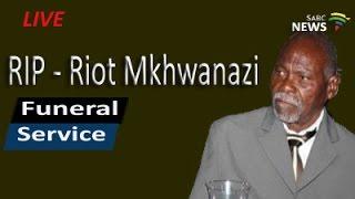 Download Funeral service of Riot Makhomanisi Mkhwanazi, 11 December 2016 Video